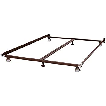 this item metal bed frame fits twin full queen king cal king by knickerbocker low profile bed frame
