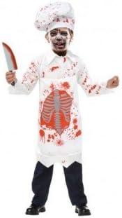 Partilandia Disfraz Zombie Cocinero para niño(2-4 años): Amazon.es ...