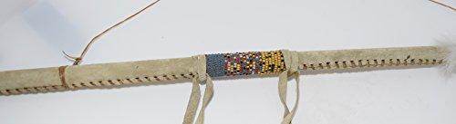 Genuine Handmade Beaded Dreamcatcher Dance Stick Wall Hanging by Kachina Country USA (Image #4)