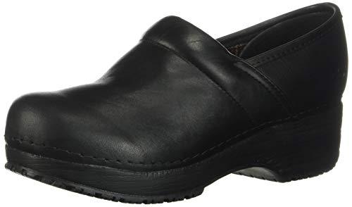 Skechers for Work Women's Clog, Black, 7.5 M US