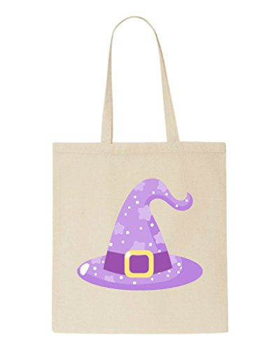 Sparkly Beige Character Shopper Halloween Hat Witches Bag Tote qr0Za