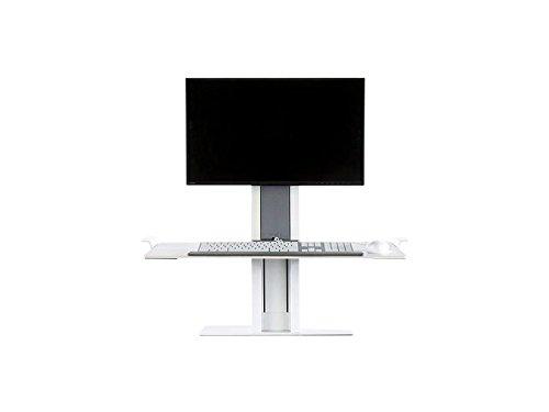 Humanscale QSWL30 Monitorhalterung, Metall, weiß, 71 x 43 x 58,5 cm