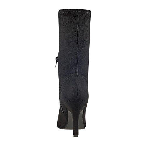 Marc Fisher Damen Stiefel & Stiefeletten Black Fabric