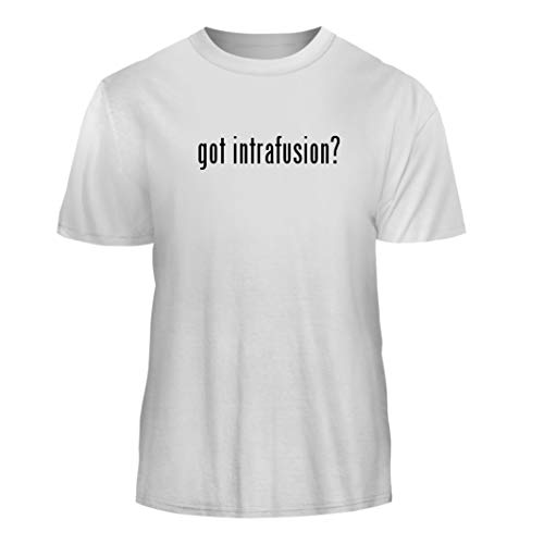 Tracy Gifts got Intrafusion? - Nice Men's Short Sleeve T-Shirt, White, XX-Large