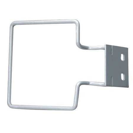 Wall wire bracket for use w/ 1 quart Sharps container (#M-949)- 1 ea.