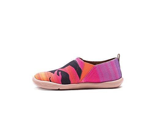 bateaux Chaussures UIN comfortable pour femme de rose Chat toiles 1ZqxUwxEv