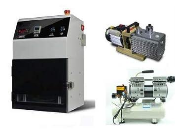 Vacío GOWE plastificado máquina, OCA al vacío plastificadora para reparar LCD OCA laminación máquina + bomba de vacío + compresor de aire: Amazon.es: ...