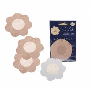 5-pairs-flower-nipple-non-woven-sticker-disposable-fabric-bra-by-toyforyoustore
