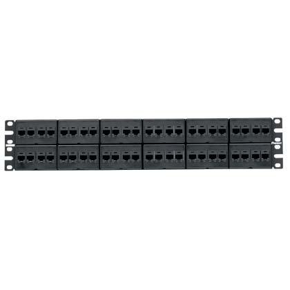 パンドウイット カテゴリ6モジュラーパッチパネルキット 48ポート CPPKJTP48WBLY B06XXSF8TW
