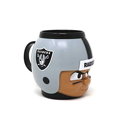 (Party Animal Officially Licensed NFL BMRA Oakland Raiders Big Sip Drink Mug, 16oz, Multi)