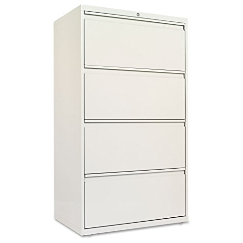 Drawer Lateral File Cabinet, 30w X 19-1/4d X 53-1/4h, Light Gray ()