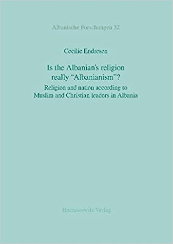 Book Is the Albanian's Religion Really 'Albanianism'?: Religion and Nation According to Muslim and Christian Leaders in Albania (Albanische Forschungen)