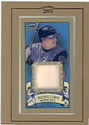 Cs2 Bat (2003 Topps 205 Relics #CS2 Curt Schilling Bat B2 - NM-MT)