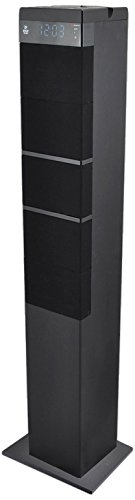 Pyle PHITB65BK Bluetooth Sound Tower Speaker System with USB Reader 3.5mm AUX, RCA Inputs and FM Radio