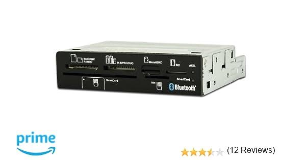 CoolBox CR650-BT - Lector de tarjetas SIM y SmartCard con Bluetooth, DNI electrónico y USB 2.0 (MS, microSD, MS Duo, MS Micro M2, MS PRO, RS-MMC, SD, ...