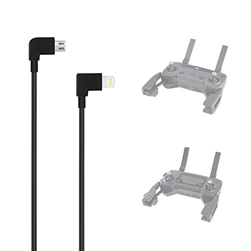 AxPower OTG Micro USB to iPhone iOS Cable 1ft