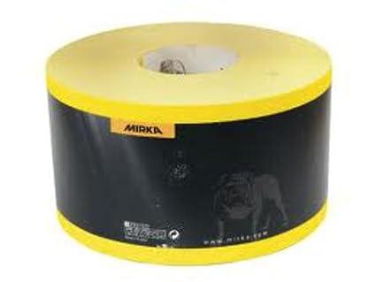 Mirka Hiomant Abrasive Sandpaper, 50m Roll, P100 Grit