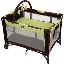 On the Go Pack 'N Play Portable Playard, - Graco Pack And Play Go Green