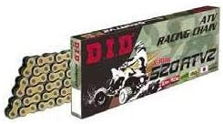 D.I.D D18520ATV2100 520 ATV2 X-Ring Chain Gold 100 Links