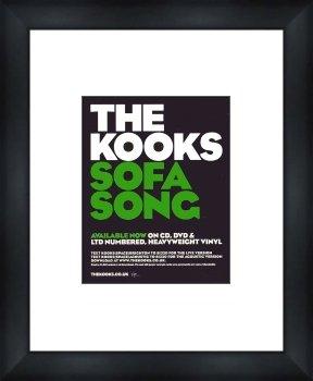 Kooks Sofa Song Framed Original Advert Amazon Co Uk Kitchen Home