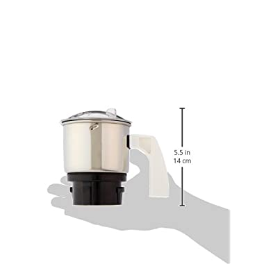 Preethi MGA-501 0.4-Litre Chutney Jar (Steel/Transparent) 8