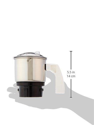 Preethi MGA-501 0.4-Litre Chutney Jar (Steel/Transparent) 4
