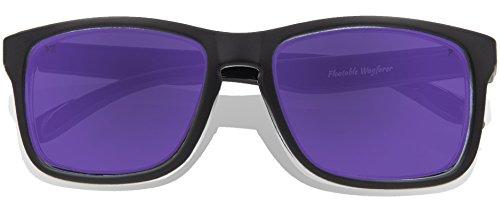 Full de Purple Revo adulte Black Matte KZ soleil Frame Lunettes Lens 0R5xwf