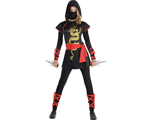 Amscan Adult Ultimate Ninja Costume - Small (2-4) -