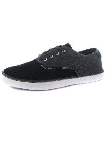 Boras , Chaussures de ville à lacets pour homme Noir Noir