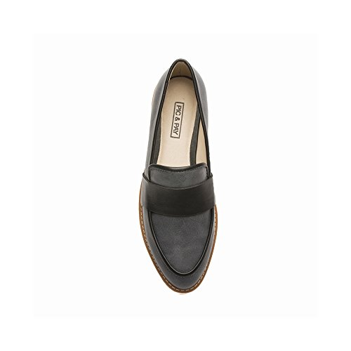 Mocassini Donna Pic / Pay Amba - Mocassino Slip-on Nero Lavato