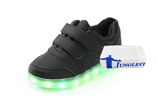 [Present:kleines Handtuch]JUNGLEST® 7 Farben LED Kinder, Jungen, Mädchen führte leuchten Trainer Sneakers Turnschuhe Sportschuh c8
