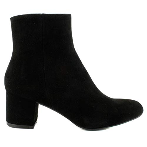 Melina Noir Paris Bottines Daim Exclusif en zwIvHw4q