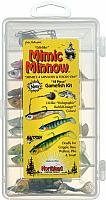 Northland Tackle Mimic Minnow Gamefishing Kit (Silver Shiner) by Northland Tackle