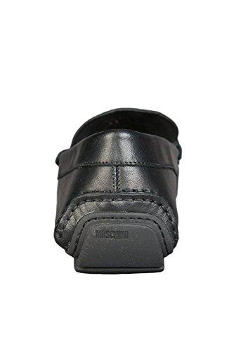 Moschino Large Logo Slip On Herren Schuhe Schwarz