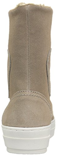 Fashion Suede Beige Women's Sneaker Love Moschino Boot xIF11A