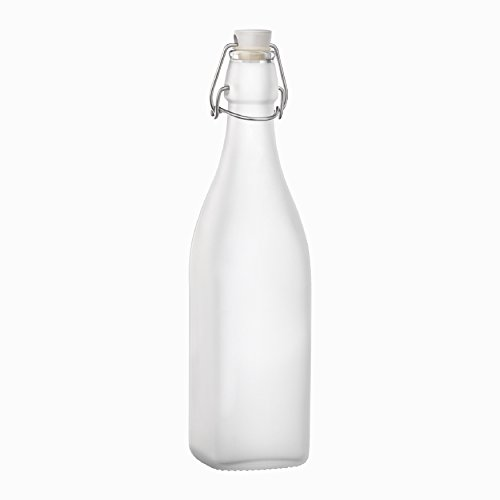 bormioli-rocco-frosted-glass-swing-bottle-with-stopper-33-3-4-ounce