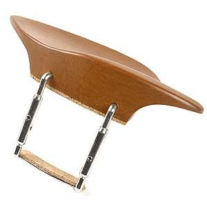 Morawetz All-Size Viola Chinrest - Boxwood with Standard Bracket