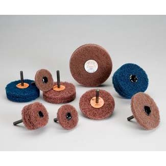Standard Abrasives Buff and Blend GP Wheel 880716 5//Case 4 Cases 4 in x 3 Ply x 1//4 in A VFN