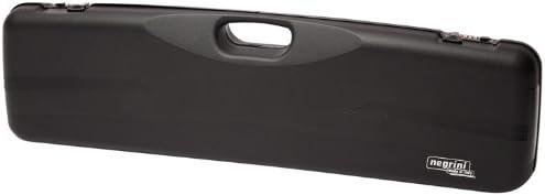 Negrini Cases 1605ISB 4786 Shotgun Case for O U SXS PP 1 Gun 1 Barrel up to 31 1 4-Inch A-Foam, Black Black