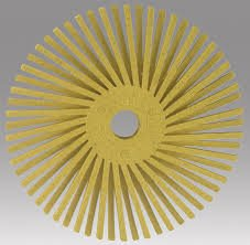 3M Scotch-Brite Roloc Radial Bristle Disc, 80 Grit - 10 Count