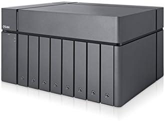 Qsan Technology XCubeNAS XN8008T Ethernet Mini Tower Negro NAS - Unidad Raid (Unidad de Disco Duro, SSD, 2.5/3.5