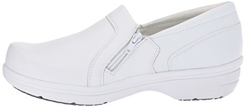 Easy Works Women's Bentley Health Care Professional Shoe, White, 9 M US by Easy Works (Image #5)