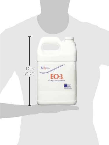 Kentucky Equine Research 044014 Eo 3 Omega-3 Supplement for Horses, 1 Gallon by Kentucky Equine Research (Image #1)