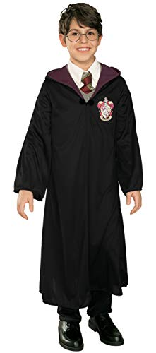 Rubie's Harry Potter Child's Costume Robe, Medium Black ()