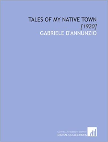 Tales of My Native Town: [1920]