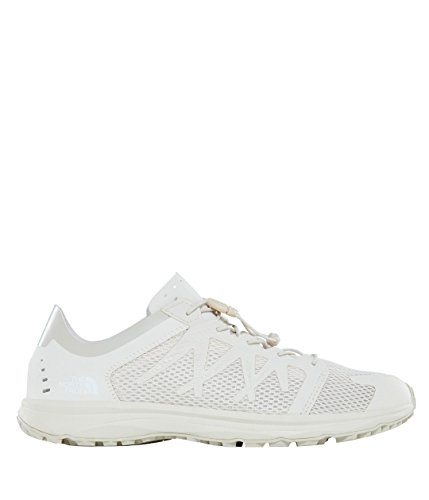 The North Face Herren Litewave Flow Lace Leichtathletikschuhe Weiß (Vintage White/vintage White)