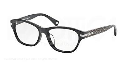 3eac79e91fe Amazon.com  Coach Lakota (F) Eyeglasses HC6050F 5226 Black Beige ...