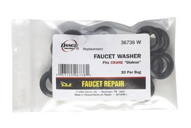 by DANCO MfrPartNo 36 738W (Crane Faucet Washer)