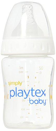 Playtex Simply Baby Bottle, Leak-Proof BPA Free, 6 Ounce