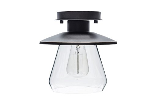 Globe Electric 64846 Flush Mount 1 Light Oil Rubbed Bronze by Globe Electric (Image #11)